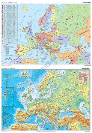 Duo Europa Fizyczna Z Elementami Ekologii Europa Polityczna 2017