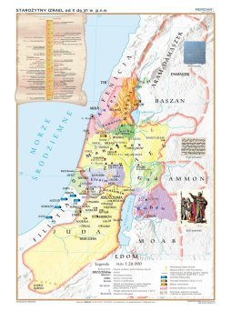Palestyna Za Czasow Chrystusa Mapa Scienna