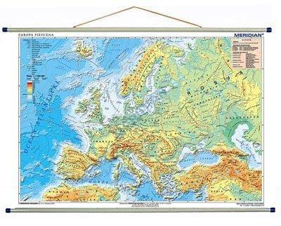 Europa Fizyczna Z Elementami Ekologii 100 X70 Cm Mapa Scienna