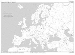 Mapa Polityczna Europy Stan Na 2019 Mapa Scienna