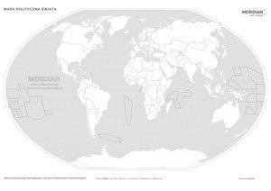 Mapa Polityczna Swiata Stan Na 2018 Mapa Scienna